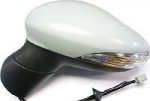 Ford Fiesta [12-17] Complete Electric Adjust Wing Mirror Unit - Primed